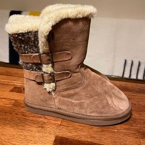 Firefly Ugg Style Shearling Slip On Winter Boots 7